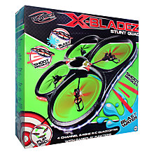 Buy X-Bladez Stunt Squad Remote Control Quadcopter Online at johnlewis.com
