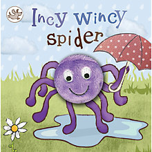 Buy Incy Wincy Spider Puppet  Children's Board Book Online at johnlewis.com