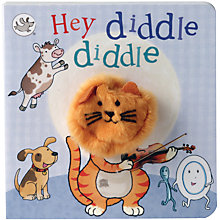 Buy Hey Diddle Diddle Puppet Children's Board Book Online at johnlewis.com