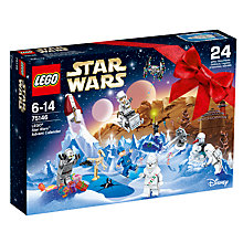 Buy LEGO Star Wars 75146 Advent Calendar Online at johnlewis.com