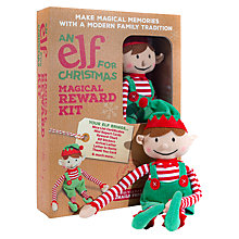 Buy Elf For Christmas Boy Elf & Magical Reward Kit Online at johnlewis.com