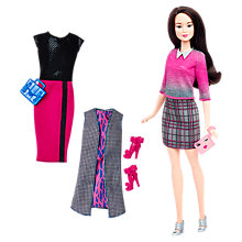 Buy Barbie Fashionistas Chic With a Wink Doll and Fashions Online at johnlewis.com
