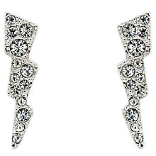 Buy Cachet Swarovski Crystal Sparks Drop Earrings, Silver Online at johnlewis.com
