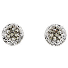 Buy Cachet Azura Swarovski Crystal Stud Earrings, Silver Online at johnlewis.com