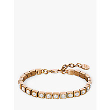 Buy Dyrberg/Kern Cone Swarovski Crystal Tennis Bracelet, Rose Gold Online at johnlewis.com