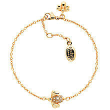 Buy Cachet Bee Swarovski Crystal Chain Bracelet, Rose Gold Online at johnlewis.com