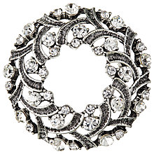 Buy John Lewis Antique Wreath Brooch, Silver Online at johnlewis.com