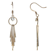 Buy John Lewis Tassel Drop Earrings, Gold Online at johnlewis.com