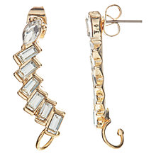 Buy John Lewis Baguette Ear Cuffs, Gold Online at johnlewis.com