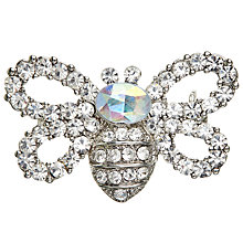 Buy John Lewis Mini Butterfly Brooch, Silver Online at johnlewis.com