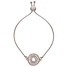 Buy John Lewis Dream Catcher Chain Bracelet, Rose Gold Online at johnlewis.com