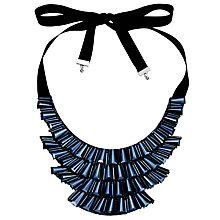 Buy John Lewis Beaded Fan Necklace Online at johnlewis.com