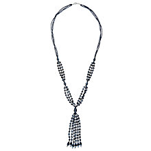 Buy John Lewis Sparkle Long Tassel Necklace Online at johnlewis.com