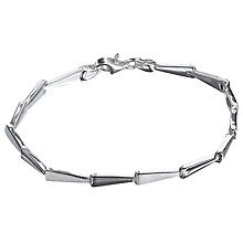 Buy Nina B Sterling Silver Arrowhead Bracelet, Silver Online at johnlewis.com