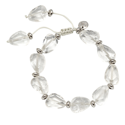 Lola Rose Anja Bracelet, Rock Crystal