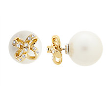 Buy kate spade new york Bow Reversible Stud Earrings Online at johnlewis.com