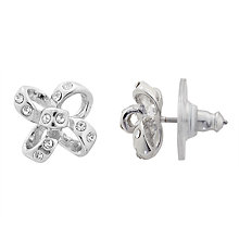Buy kate spade new york Crystal Bow Stud Earrings Online at johnlewis.com