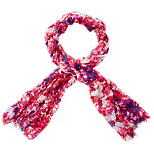 Buy Pure Collection Natalie Scarf, Abstract Floral Print Online at johnlewis.com