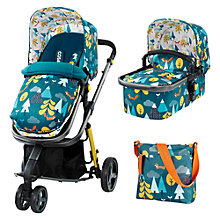 Buy Cosatto Giggle 2 Puschair Complete Set with Carrycot and Changing Bag, Fox Tail Online at johnlewis.com