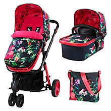 Buy Cosatto Giggle 2 Pushchair Complete Set with Carrycot and Changing Bag, Tropico Online at johnlewis.com