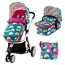 Buy Cosatto Giggle Pushchair, Happy Campers, With Free Car Seat Online at johnlewis.com