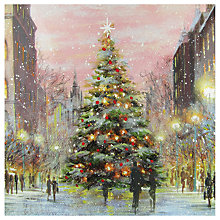 Buy Paper House City Tree Christmas Card Online at johnlewis.com