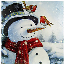 Buy Paper House Snowman And Friends Christmas Card Online at johnlewis.com