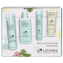 Buy Liz Earle Essentials Kit, Combination / Oily Online at johnlewis.com