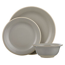 Buy John Lewis Croft Collection Amberley Tableware Set, 12 Piece Online at johnlewis.com