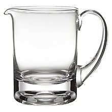 Buy Dartington Crystal Circle Jug, Clear Online at johnlewis.com