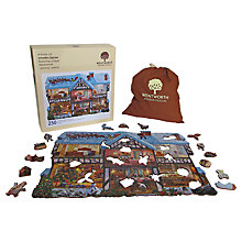 Buy Wentworth Puzzles Christmas House Wooden Jigsaw Puzzle, 250 pieces Online at johnlewis.com