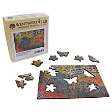 Buy Wentworth Wooden Puzzles Le Pont Japonaise Art Jigsaw Puzzle, 40 pcs Online at johnlewis.com