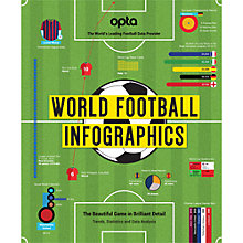 Buy World Football Infographics Book Online at johnlewis.com