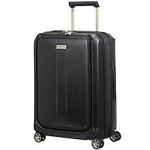 Buy Samsonite Prodigy Spinner 4-Wheel 55cm Cabin Case, Black Online at johnlewis.com
