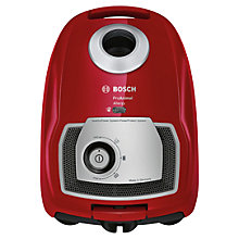 Buy Bosch BGL4PETGB Animal Cylinder Vacuum Cleaner, Cayenne Red Online at johnlewis.com