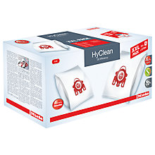 Buy Miele FJM XXL HyClean 3D Efficiency Vacuum Bag 10408420 Online at johnlewis.com