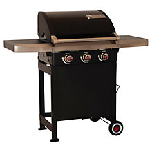 Buy Landmann Rexon 3 Burner BBQ, Black Online at johnlewis.com