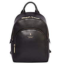 Buy Modalu Nell Leather Small Backpack Online at johnlewis.com