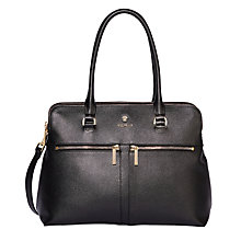 Buy Modalu Classic Pippa Leather Grab Bag Online at johnlewis.com