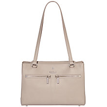 Buy Modalu Pippa Leather Shoulder Bag, Shark Online at johnlewis.com