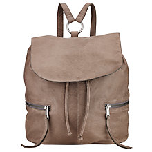 Buy Pieces Billie Leather Backpack Online at johnlewis.com