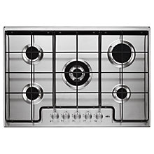 Buy AEG HG745450SM Gas Hob, Stainless Steel Online at johnlewis.com