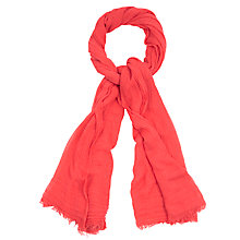 Buy Oasis Soft Crinkle Plain Scarf Online at johnlewis.com