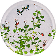 Buy Ary Geranium Round Tray, FSC-certified (Birch) Online at johnlewis.com