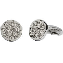 Buy Simon Carter for John Lewis Archive Cummersdale Cufflinks, Silver Online at johnlewis.com
