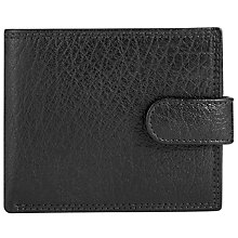 Buy John LewisBifold Tab Katta Aniline Leather Wallet, Black Online at johnlewis.com