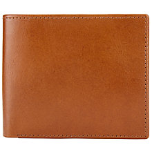 Buy John Lewis Paisley Leather Bifold Wallet, Tan Online at johnlewis.com