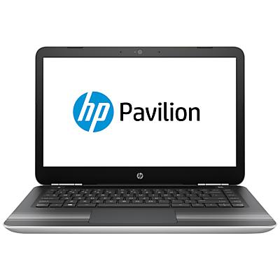 "Image of HP Pavilion 14-al015na Laptop, Intel Core i3, 8GB RAM, 1TB, 14"", Natural Silver"