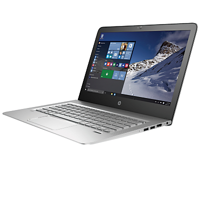 "Image of HP ENVY 13-d002na Laptop, Intel Core i7, 8GB RAM, 256GB SSD, 13.3"" Full HD, Natural Silver"