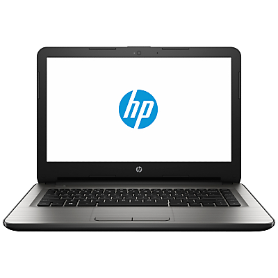 "Image of HP 14-an008na Laptop, AMD A8, 8GB RAM, 1TBB, 14"", Turbo Silver"